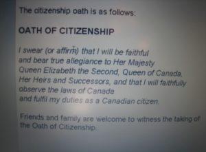 Ann Kim's Oath of Citizenship